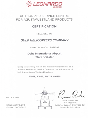 Samana Qatar - Gulf Helicopters